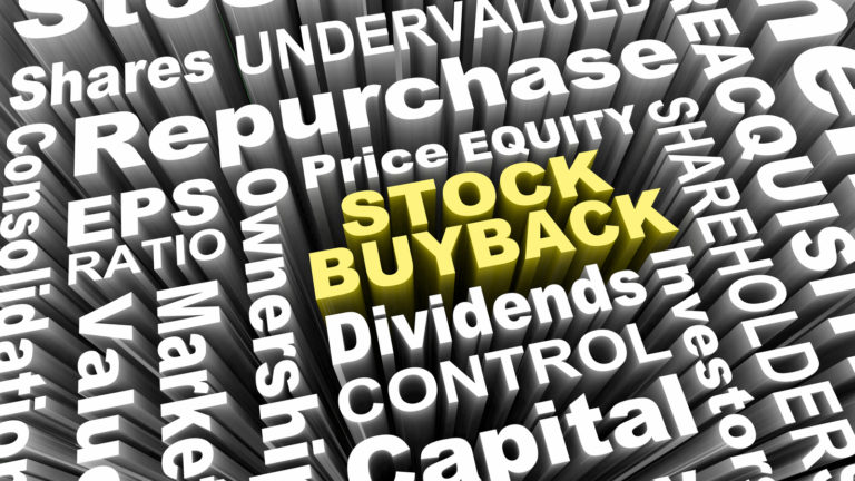stock buybacks - 3 Stocks That Should Be Boosted by Buybacks in 2021