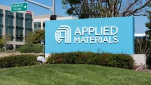 Applied Materials company sign outside office