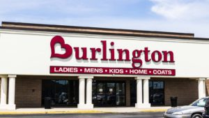 photo of a Burlington coat factory store