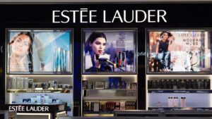 Estee Lauder (EL) cosmetics store at Elements Shopping Mall.