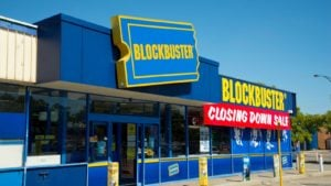 """The 7 Most Important Companies That Didn't Survive the 2010s"""" Blockbuster"""