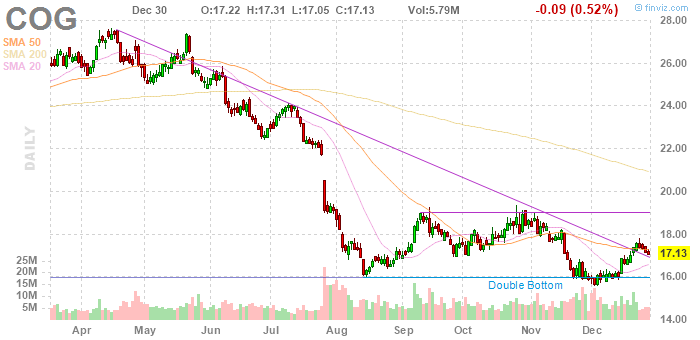 Cabot Oil & Gas (NYSE:COG)
