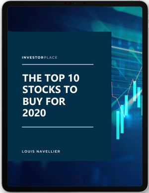Image of Top 10 Stocks for 2020