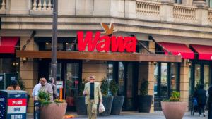 a Wawa storefront