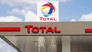 the Total (TOT) logo displayed on a building