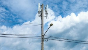 Image of a 5G telephone pole