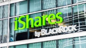 iShares by Blackrock sign