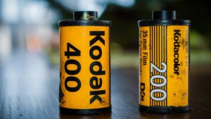 two Kodak (KODK) branded photo rolls