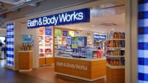 An L Brands (LB) Bath & Body Works location