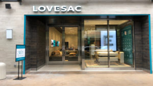 lovesac storefront, a growth stocks