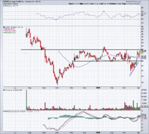 Top stock trades for LVGO