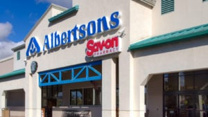 Albertsons (ACI) store with logo