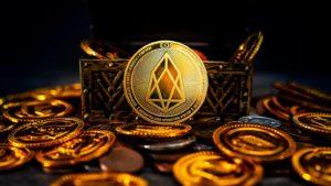 A concept coin for the EOS (EOS) crypto
