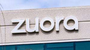 building façade with zuora (ZUO) logo on it, one of the stocks to buy