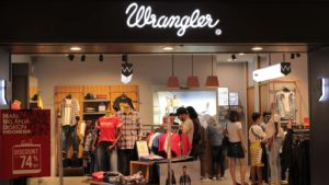 One of Kontoor Brands' (KT) Wrangler stores at a mall in Medan City, Indonesia.