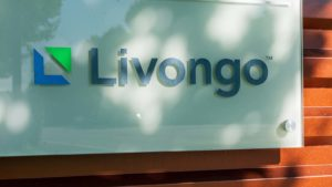 A Livongo Health (LVGO) sign near the company's campus in Silicon Valley.