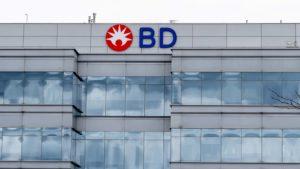 Facade of the Becton Dickinson (BDX) office in Ontario, Canada.