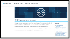 BTC - CME offering Bitcoin Trading