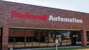 A Rockwell Automation building in Indianapolis, Indiana.