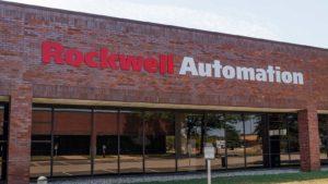 Un bâtiment Rockwell Automation à Indianapolis, Indiana.