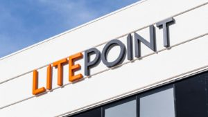 A close-up view of a LitePoint office, which is a subsidiary of Teradyne (TER).