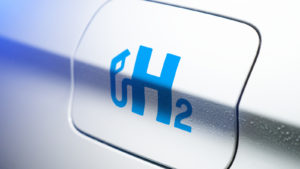 a symbol with H2 (hydrogen) on it and a fill-up tank