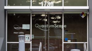 The headquarters of QuantumScape (KCAC) in San Jose, California.