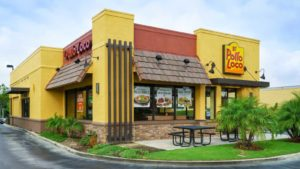 El Pollo Loco restaurant exterior and sign