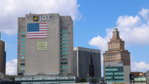 Image of the IDT headquarters in Newark.