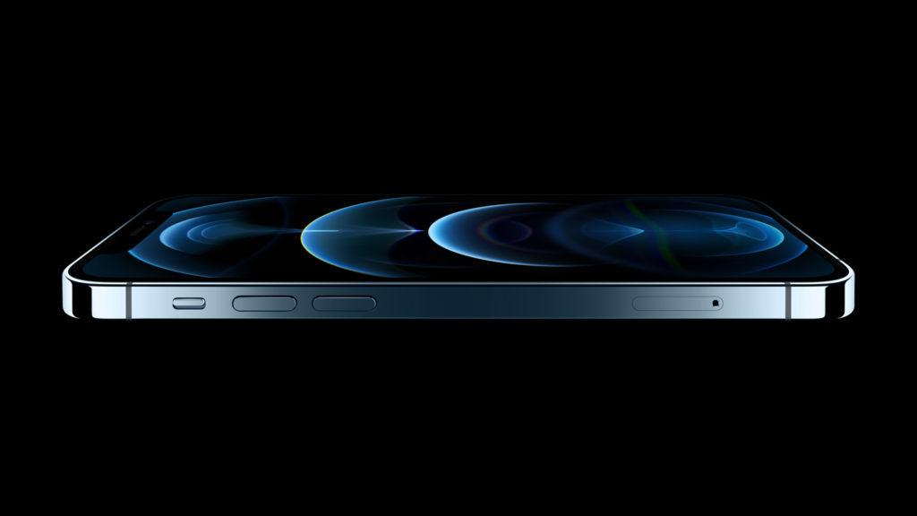 Apple 'Hi, Speed' Event image of iPhone 12 Pro Max