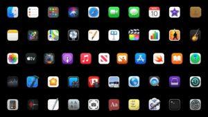 MacOS app icons