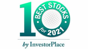 The logo for the InvestorPlace.com best stocks for 2021 contest.