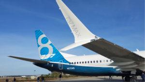 image of a Boeing (BA) 737 max aircraft