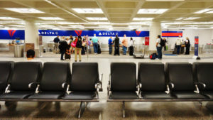 The Minneapolis-Saint Paul International Airport (MSP) includes two terminals, Lindbergh and Humphrey. It is a hub for Delta.