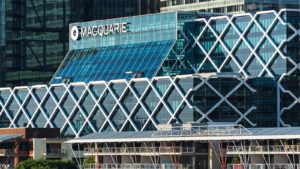 An office building of Macquarie in Sydney, Australia.