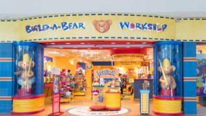 A Build-A-Bear (BBW) storefront in Philadelphia, Pennsylvania.