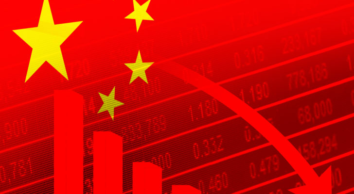 delisted stocks concept image of delist Chinese stocks from US stock market