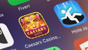 The app icon for Playtika (PLTK) offering Caesars Casino Slots.