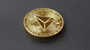 Tron crypto logo