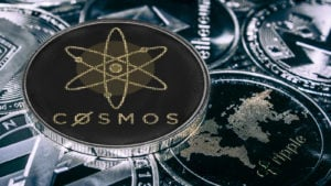 coin cryptocurrency Cosmos atom against the main alitcoins the Ethereum, dash, monero, litecoin