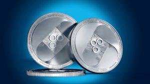 A concept image of the OMG crypto token.