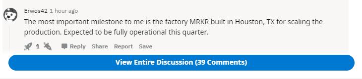 MRKR stock talk on Reddit.