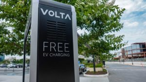 Volta Free EV charging station