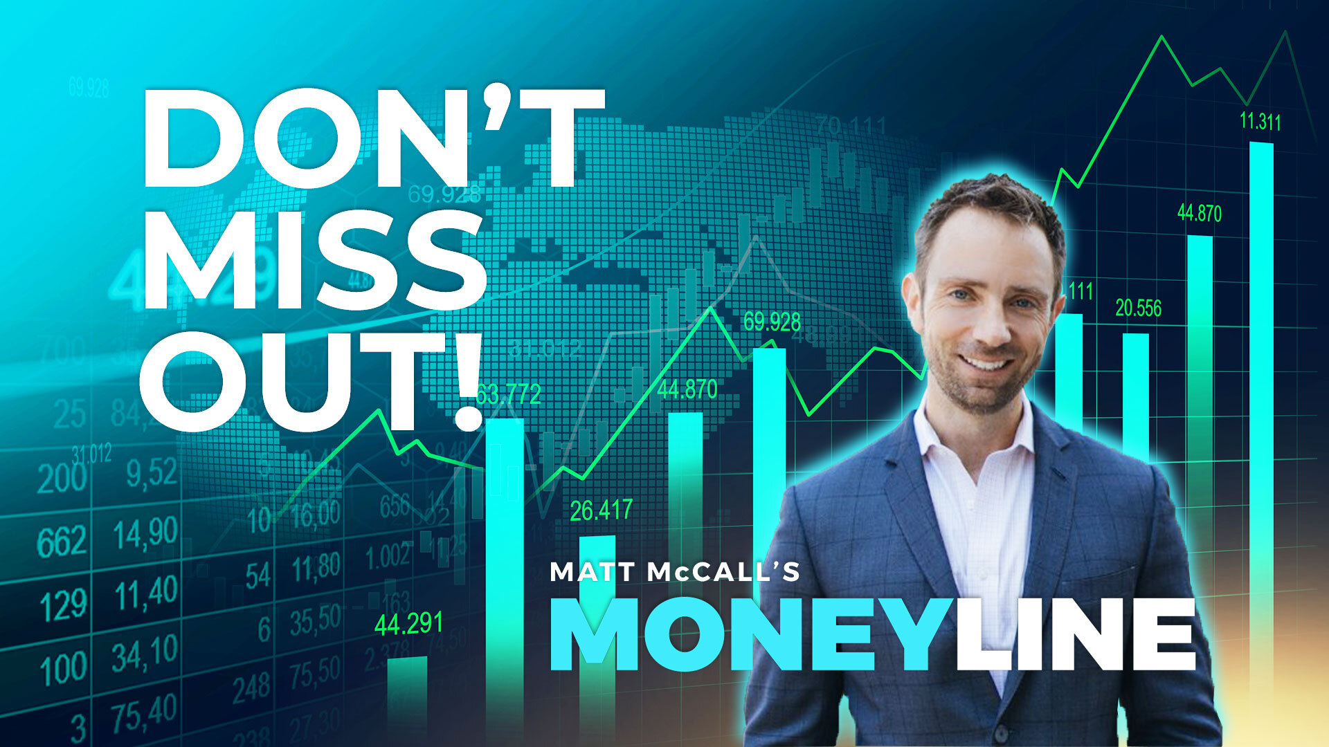 Matt McCall's Moneyline: Don't Miss Out!
