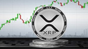 A concept image for the XRP (XRP-USD) token from Ripple.