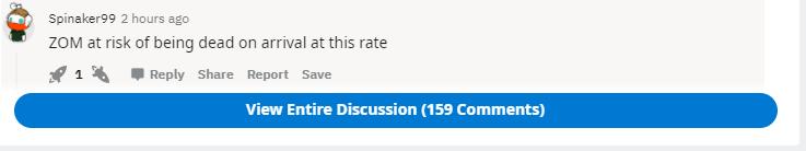 Reddit Penny Stocks ZOM Stock Talk