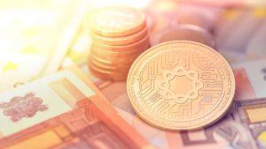 A concept token for Medicalchain (MTN) on euros.