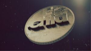 A Chia Coin XCH token.