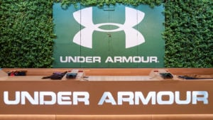 Under Armour on Michigan Avenue in Chicago