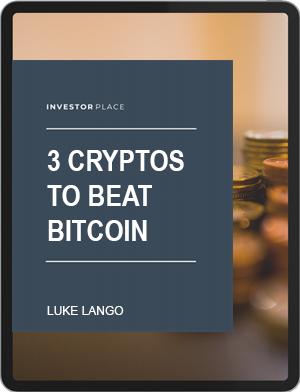 Free Report by Luke Lango: 3 Cryptos to Beat Bitcoin